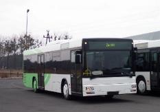 MAN Bus von Tarnowo (Polen) nach Berlin