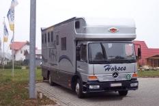MercedesBenz (Pferdetransporter) von Torring (Dänemark) nach Lastrup 510 km