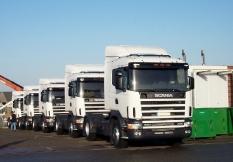 Scania von Zwolle (Niederlande) nach Pomellen 760 km