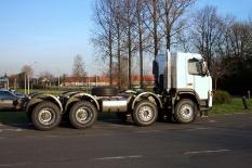 Volvo von Gent (Belgien) nach Hannover 520 km