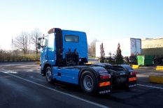 Volvo von Gent (Belgien) nach Herzberg im Harz 640 km