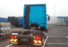 Volvo von Gent (Belgien) nach Kiel 700 km