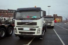 Volvo von Kiel nach Pomellen (polnische Grenze) 450 km